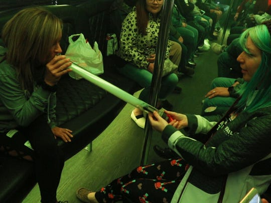 Colorado Cannabis Tours offers a wide range of entertainment for tourists interested in cannabis. This bus tour brings customers to grow facilities, dispensaries, and other attractions while and while offering  a legal means to consume the product. Denver, COFriday, April 13, 2018@dhoodhood