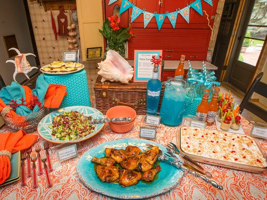 Larry's Orange Marmalade Chicken, Gail's Broccoli and