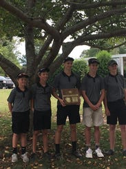 Camden boys won the Small Division District 13 title