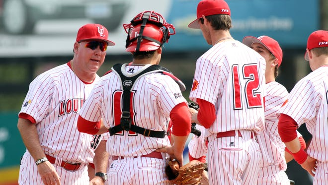 UL coach Tony Robichaux and the Ragin' Cajuns are ranked No. 2 in the two major college baseball poll and moved up to No. 7 in the RPI.
