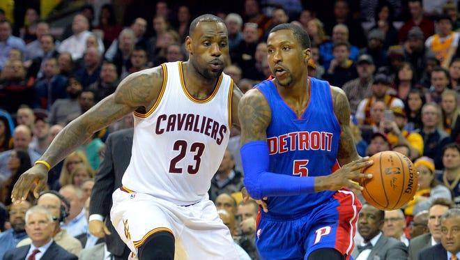 Detroit Pistons guard Kentavious Caldwell-Pope.