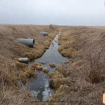 Pipes, tiling and ditches make up an Iowa drainage district in Sac County, as depicted in photos filed by Des Moines Water Works with a complaint in federal court.