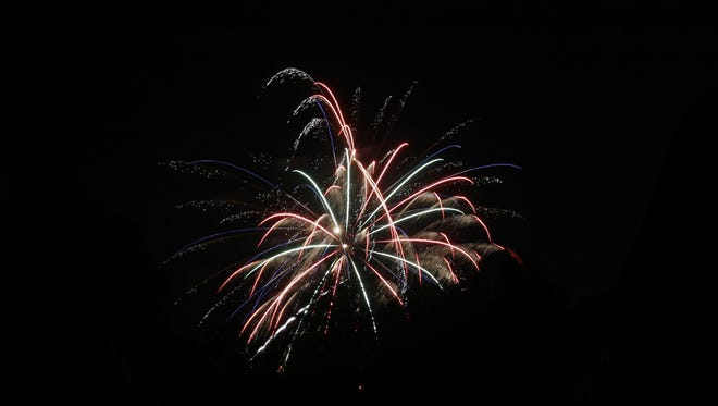 Fireworks are now banned on BLM lands.