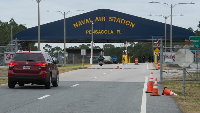 In anticipation of freezing temperatures overnight, Pensacola Naval Air Station,Corry Station and Saufley Field will cancel normal operations and close the installations to all visitors and non-essential personnel starting at 9 p.m. today.