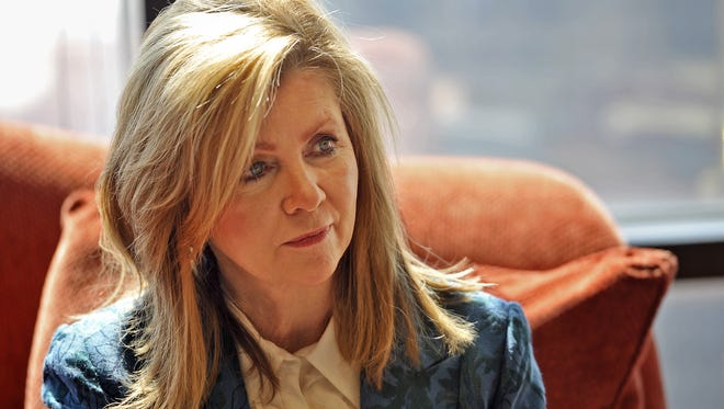 U.S. Rep Marsha Blackburn, R-Brentwood, is set to run for U.S. Senate, announcing her decision the same day Gov. Bill Haslam said he would not seek the seat.