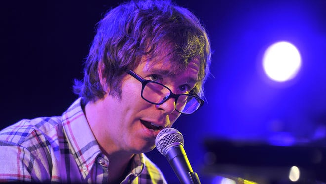 Musician Ben Folds will bring his solo tour to the Strand Theatre in York on April 22.