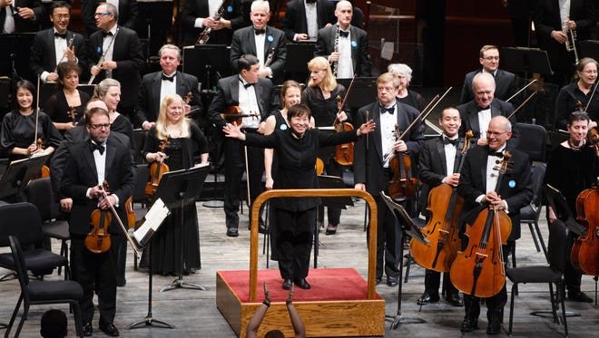 New Jersey Symphony Orchestra music director Xian Zhang.