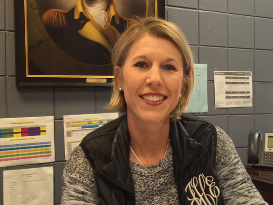 Julie Harrington, once a Trinity basketball star, is