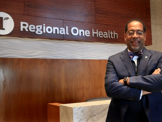 Dr. Reginald Coopwood, CEO of Regional One Health,