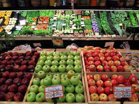 Fresh produce at MaMa Jean's in Springfield in 2014