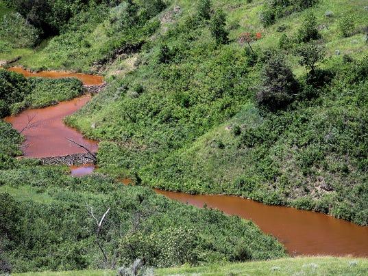 AP North Dakota Saltwater Spill