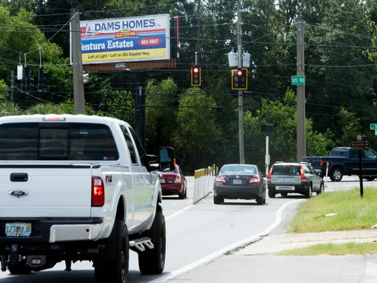 Business owners along Glover Lane in Milton have concerns