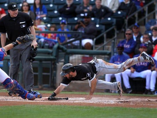 USP MLB_ Spring Training-Chicago White Sox at Texa