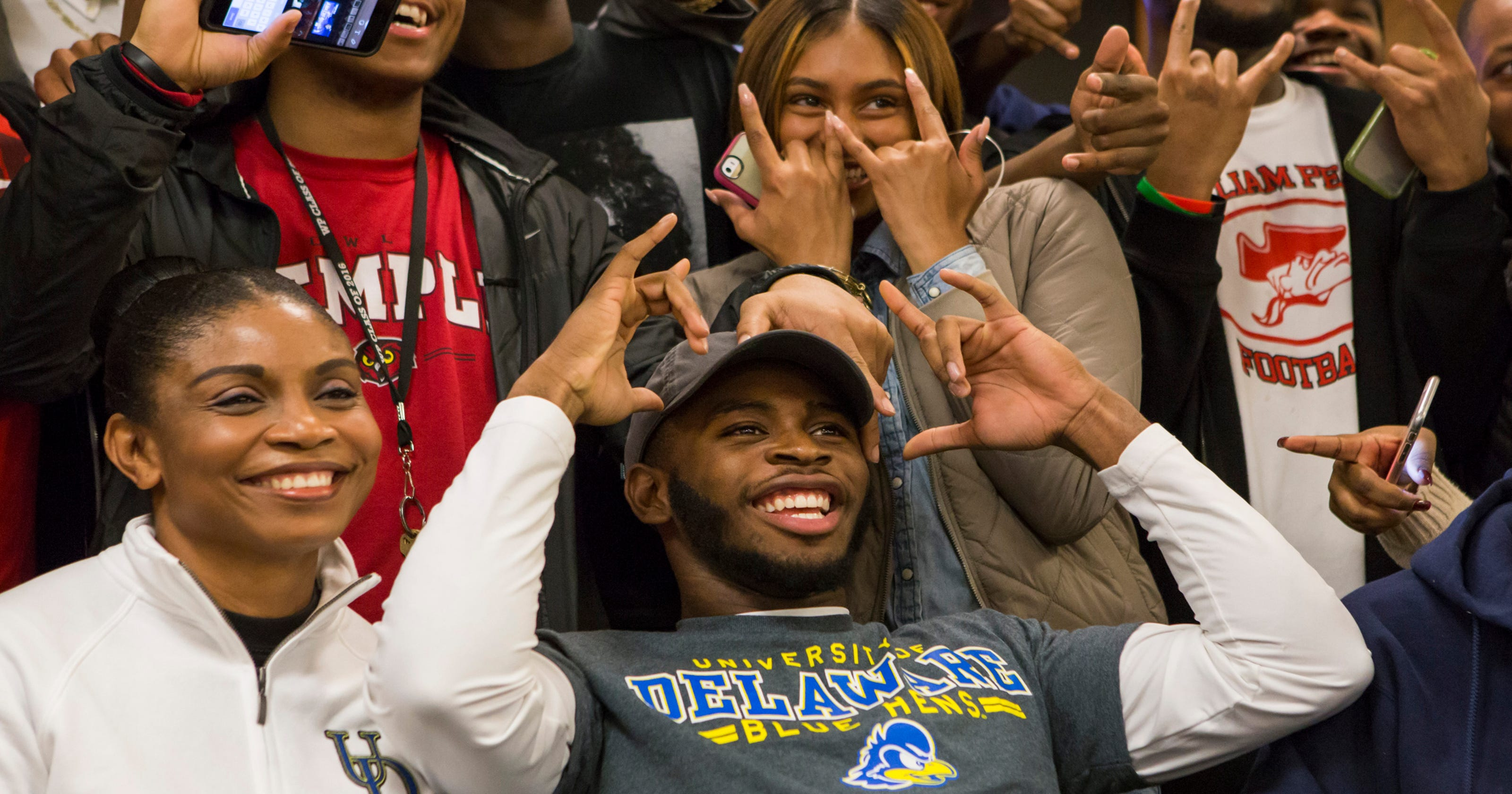Brock: Good signs for Blue Hens after 9 players added