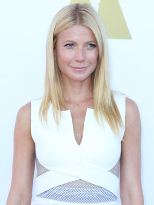 Gwyneth Paltrow attends the Academy Of Motion Picture Arts and Sciences' Hollywood Costume Luncheon at Wilshire May Company Building on October 8, 2014 in Los Angeles, California.