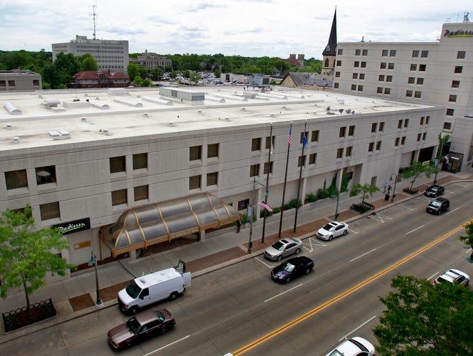 The Radisson Paper Valley Hotel in Appleton on June