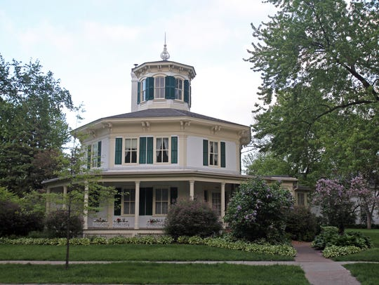 The Octagon House Museum in Hudson.