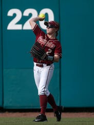 Florida State junior outfielder Morgan Klaevemann has