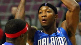 Armon Johnson, shown during training camp in 2012 with the Orlando Magic, is playing in Spain this season.