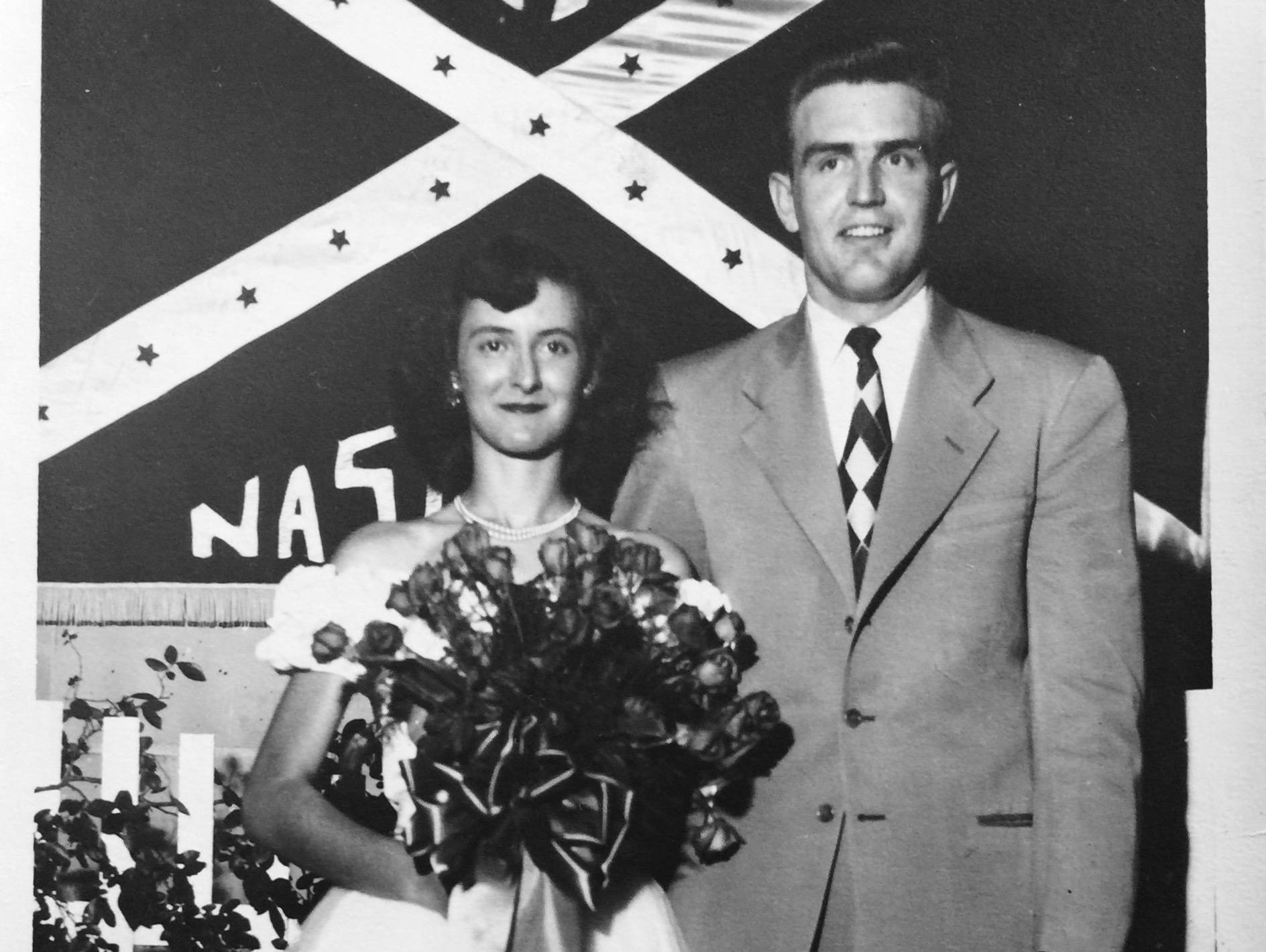 """Thelma and Dudley """"Big Daddy"""" Jones married in 1950, five weeks before he was shipped to fight in Korea."""
