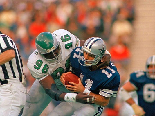 Danny White, Clyde Simmons