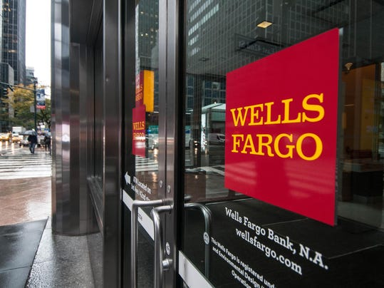Wells Fargo shares plummet more than 9 percent after Fed action