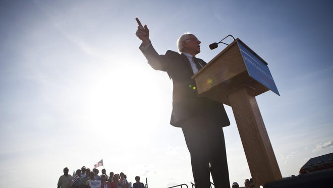 Sen. Bernie Sanders, I-Vt., says he will support the nuclear deal with Iran.