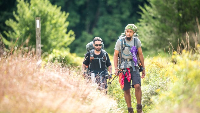 "A scene from ""Trail Brothers,"" a short film released Tuesday by the Appalachian Trail Conservancy."