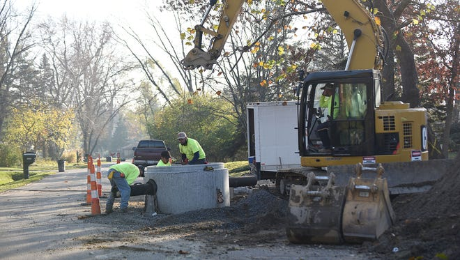 Road work, particularly in subdivisions, will be a huge issue during the Farmington Hills election.
