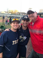 New Loveland baseball coach Steve Plitt watched former Tiger Luke Waddell, left, and Chase Murray of CHCA in April when Georgia Tech faced the Miami Hurricanes.