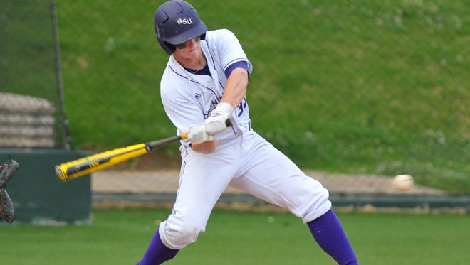 Cort Brinson and the Northwestern State Demons open baseball practice on Friday.