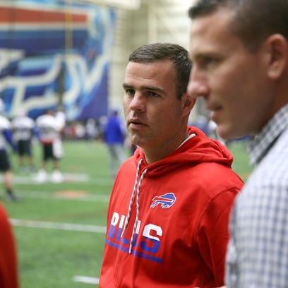 New Buffalo Bills GM Brandon Beane took an early career risk that paid off