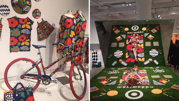 Scenes from the Marimekko for Target launch party in
