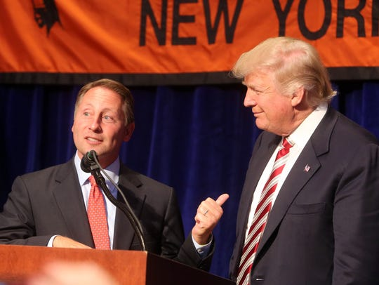 Westchester County Executive Rob Astorino on stage