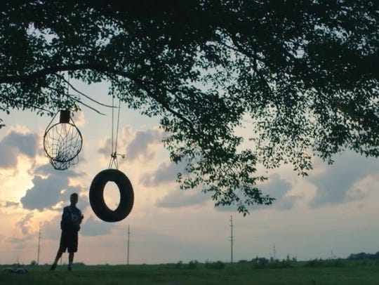 WE GROW BASKETBALL HOOPS AND TIRE SWINGS HERE.