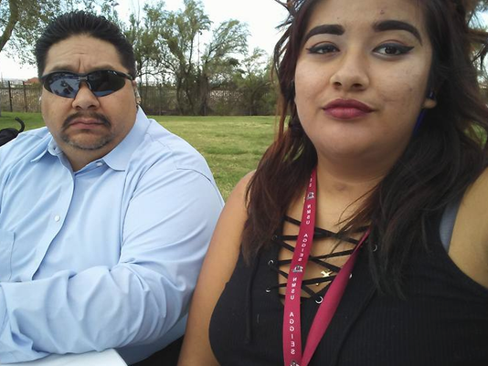 Roger Avalos and Briana Chavez
