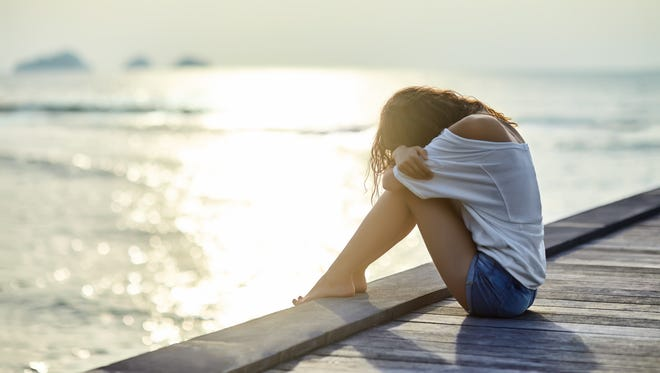 """Feel down come summer time? Summer depression is real. Its medical term is summer-onset seasonal affective disorder, otherwise referred to as """"SO SAD."""""""