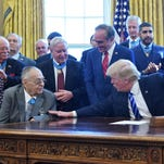 To recognize war heroes, Trump resurrects long-neglected 'Medal of Honor Day'