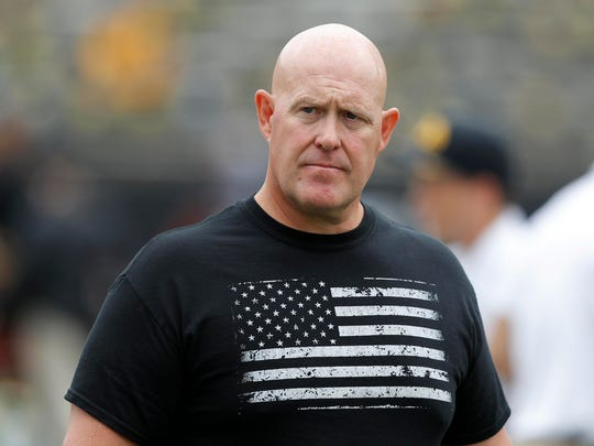 Iowa strength and conditioning coach Chris Doyle has been placed on administrative leave.