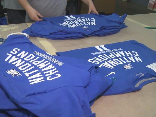 Piedmont Company Printing Duke Championship T Shirts