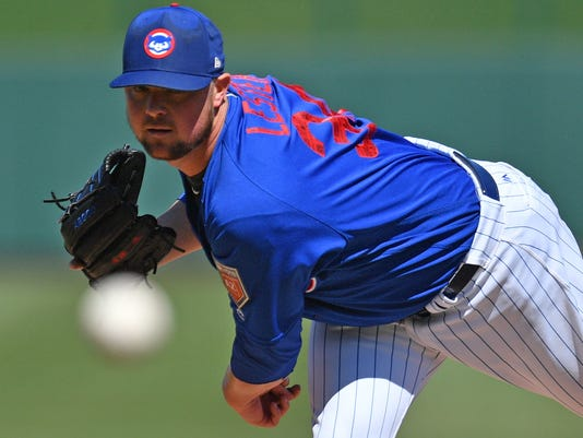 MLB: Spring Training-Los Angeles Angels at Chicago Cubs