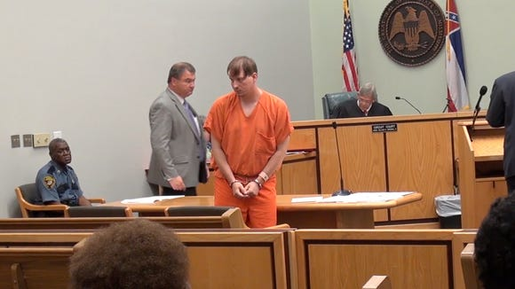 Clayton Kelly is sentenced in the Rose Cochran photo case in Madison County Court , Monday June 15, 2015.