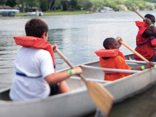 For some children visiting The Salvation Army's Echo Grove Camp in Leonard, it is the first time they experience such outdoor recreation as canoeing, archery, rock climbing, zip lining and more.