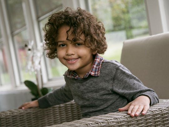 Jagger Thornton, 5, is one of the patient champions