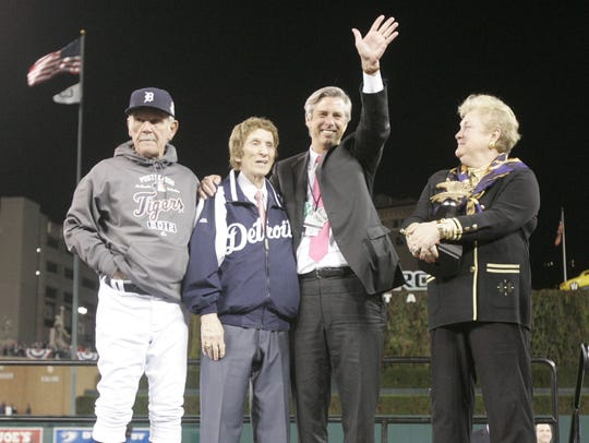 Jim Leyland, Mike Ilitch, Dave Dombrowski and the AL