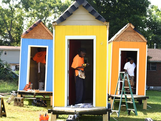 6 micro houses for nashville homeless find permanent space - Micro Houses