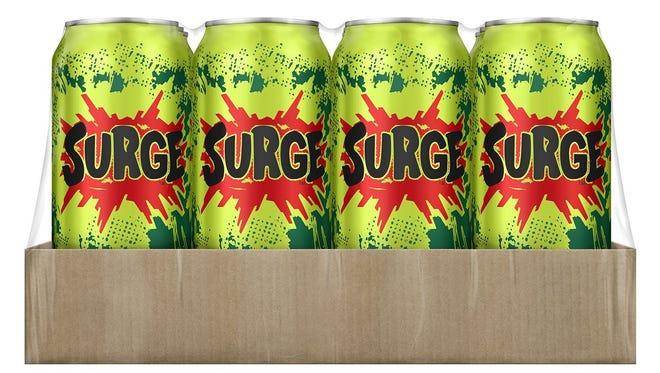 Coca-Cola is bringing Surge back.