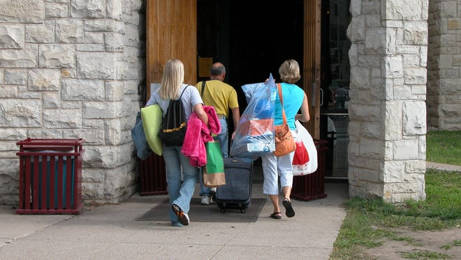 Nerves can strike parents with kids headed off to college for the first time.