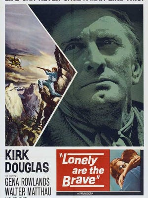 Kirk Douglas can't be caged.