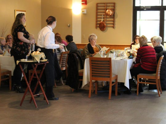 The staff at Careme's are no strangers to serving large groups.